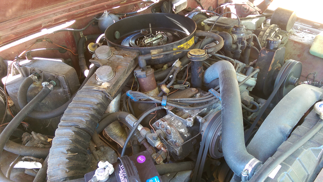 a new project with a few more wheels than normal, '86 Jeep Grand Wagoneer...    blog.peterlombardi.com