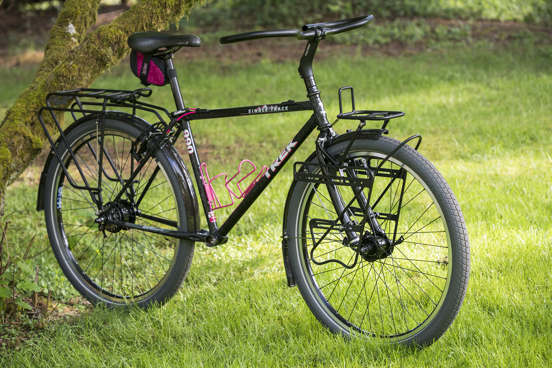 An update on Olivia's Trek Singletrack 990 Tourer… || blog.peterlombardi.com